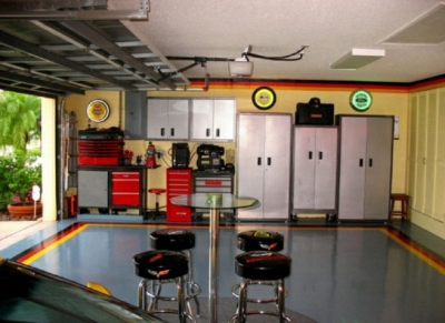 Building Your Man Cave In The Garage